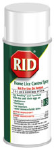 Rid spray can